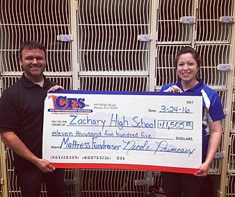 Zachary High School $11,505