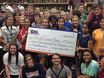 Ada Cougar Band $7,500
