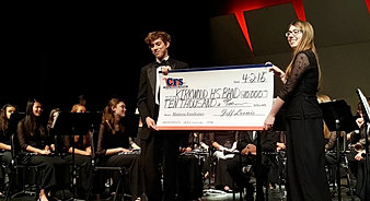Kirkwood HS Band $10,000