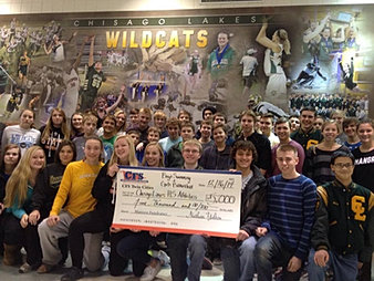 Chisago Lakes HS Athletics $5,000