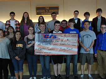 Danvers HS Band 2015 Mattress Fundraiser Check $8,675