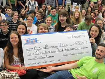 Edmond Memorial Band $6,400