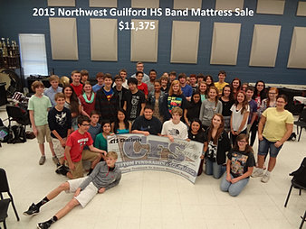 Northwest Guilford HS Band $11,375
