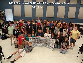 Northwest Guilford HS Band $11,375