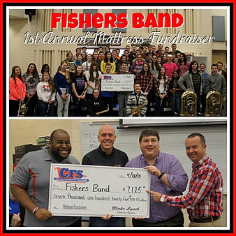 Fishers Band $7,125