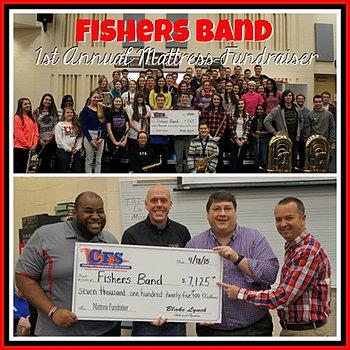 Fishers Band $7,125