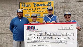 Clyde Baseball $6,821
