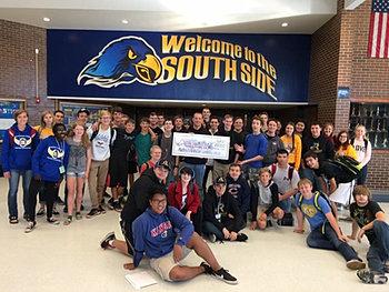 Olathe South HS Band $10,000