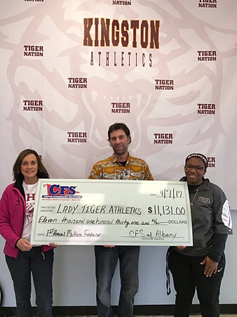 Kingston High School Lady Tiger Athletics $11,131