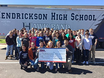 Hendrickson High School Band $18,500