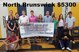 North Brunswick HS $5,300