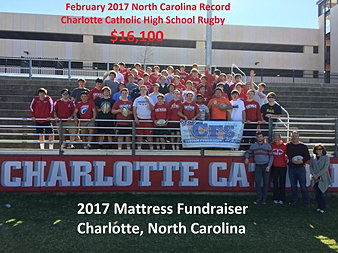 Charlotte Catholic HS Rugby $16,100