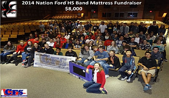 Nation Ford HS Band $8,000