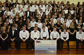 Condord HS Music $8,000