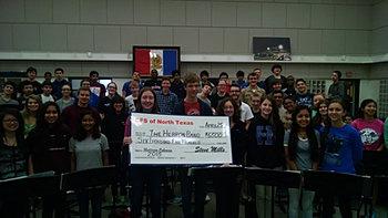 Hebron Band $6,500