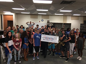 Blue Springs South HS Band $5,200