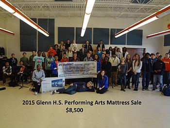 Glenn HS Performing Arts $8,500