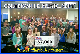 Centerville Music Department $7,000