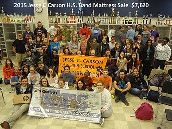Jesse C Carson HS Band $7,620