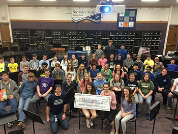 Blue Valley North Mustang Band $6,500
