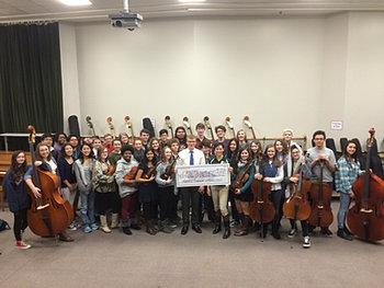 LFS Orchestra $6,500