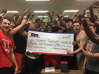 Hoover Football $21,000