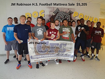 JM Robinson Football $5,205