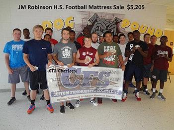 JM Robinson Football $5,205