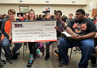Webster Groves High School Band $11,510