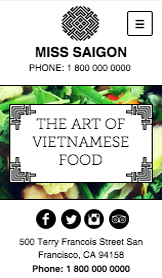 미스 사이공 베트남 요리