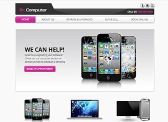 Computer Repair Website Template | WIX