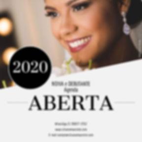 A Agenda 2020 acaba de abrir!_Garanta já