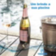 Brinde a vida! #piscinasdeluxo #piscinas