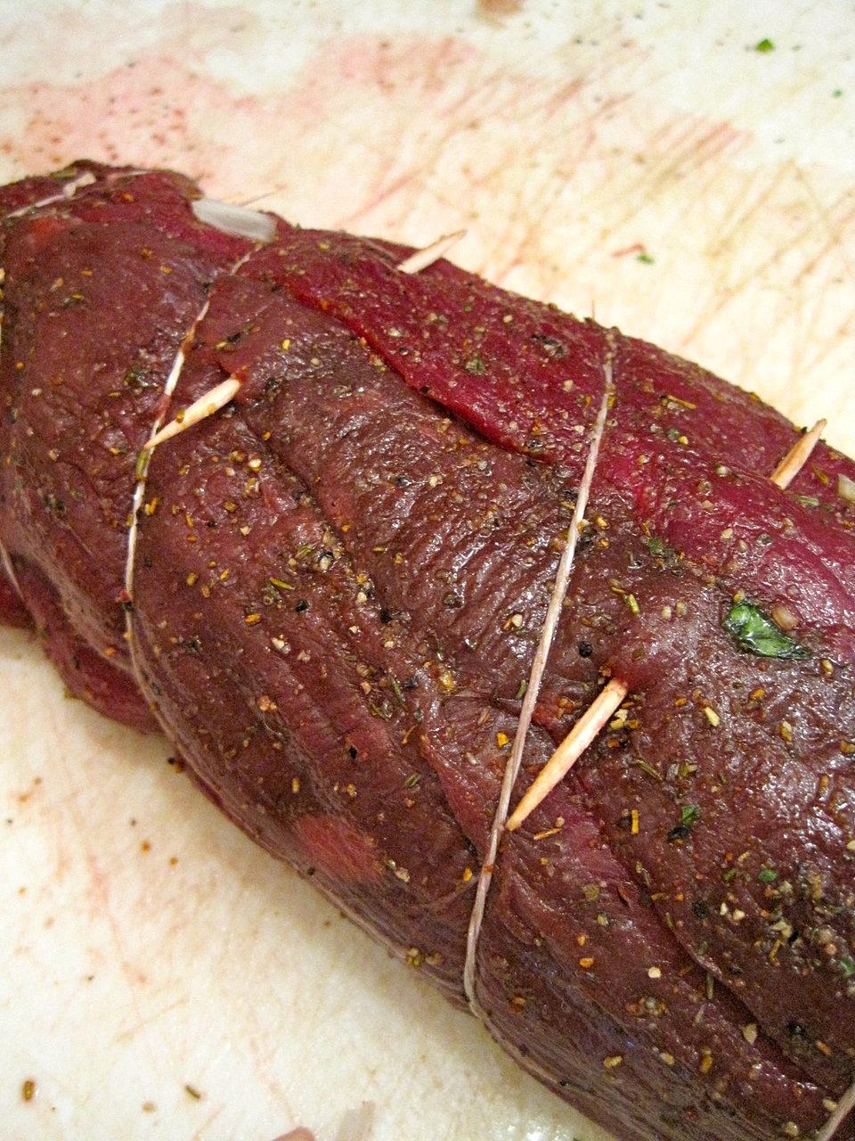 Elk Meat Roast