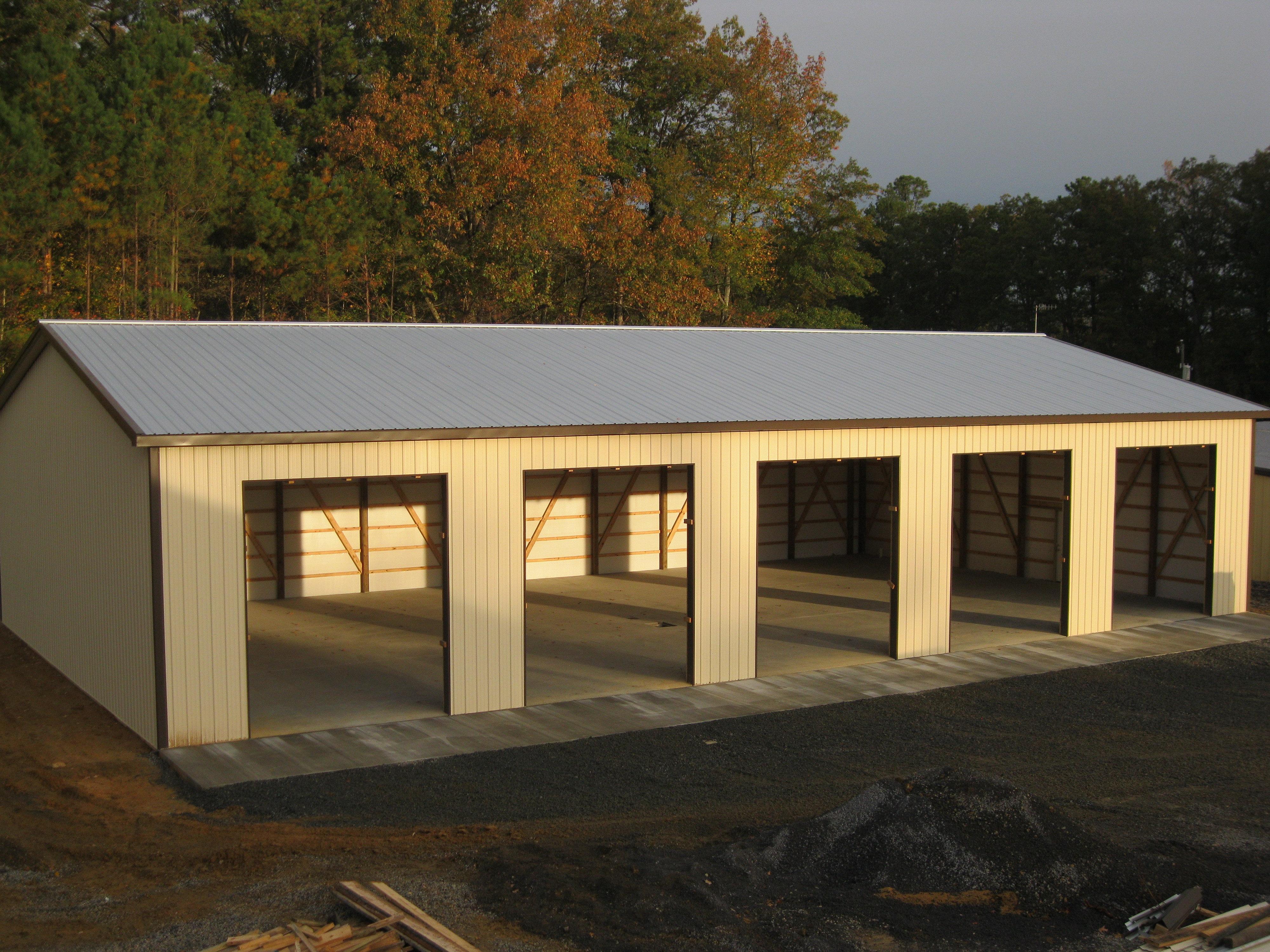 Virginia Barn Company Pole Barn Builder Va 5 Bay