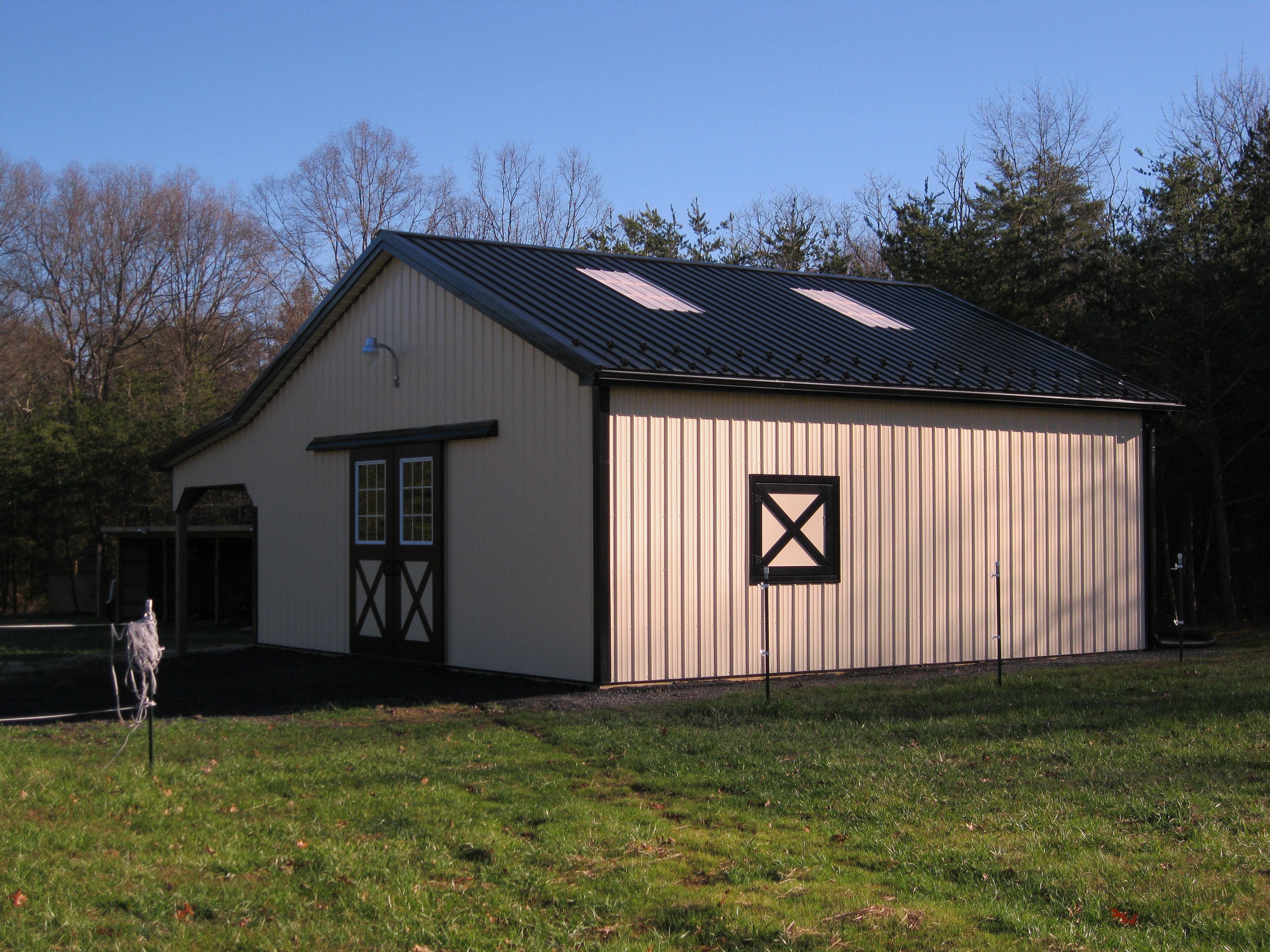 Lean to pole barn joy studio design gallery best design for Pole barn greenhouse