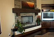 San Diego and Anaheim Soapstone slabs for fireplace mantles, surrounds, indoor seating, and firebrick