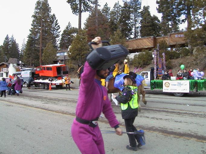 SnowFest Parade