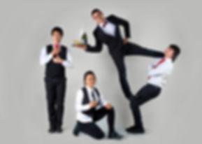 waiters wedding performance show