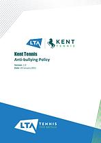 Kent Tennis Anti-Bullying Policy v1.0-1.