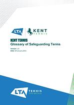 Kent Tennis Glossary of Safeguarding Ter