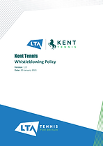 Kent Tennis Whistleblowing Policy v1.0-1