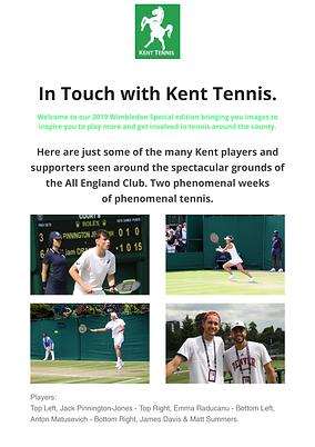 Kent Tennis Intouch Wimbledon Special 20