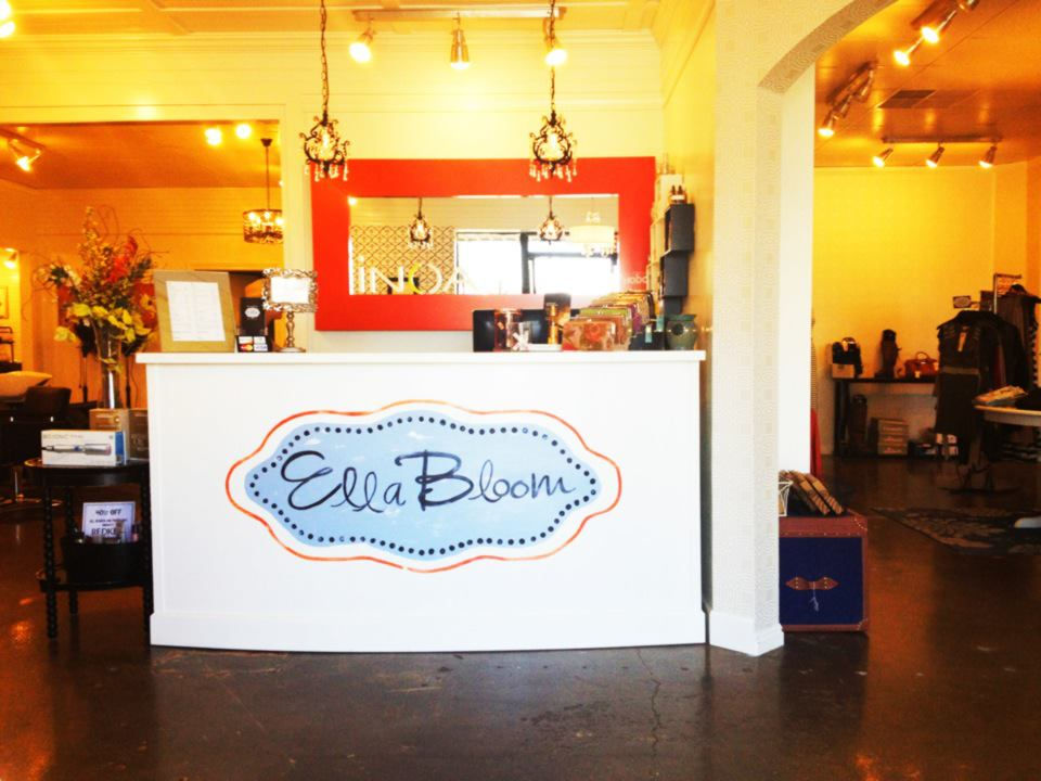 Ella bloom salon spa boutique home for Adel salon services