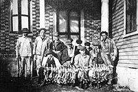 Hunting Scene 1925