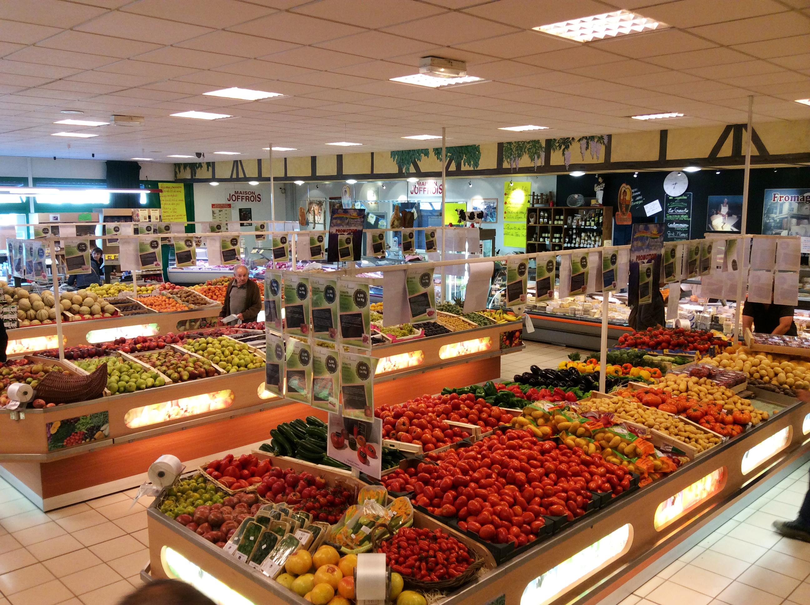 Le march proven al magasin aurillac fruits et l gumes - Marche provencal chambray ...