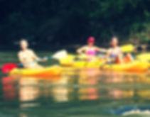 kayakers in georgia