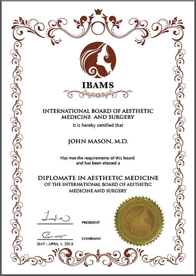 Aesthetic Medicine Board Certification Botox Filler Training