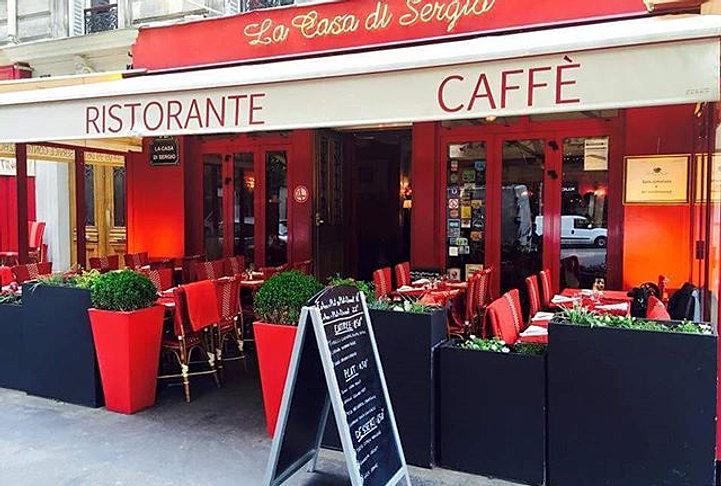 La casa di sergio restaurant italien paris 17 accueil - Restaurant italien porte maillot paris 17 ...