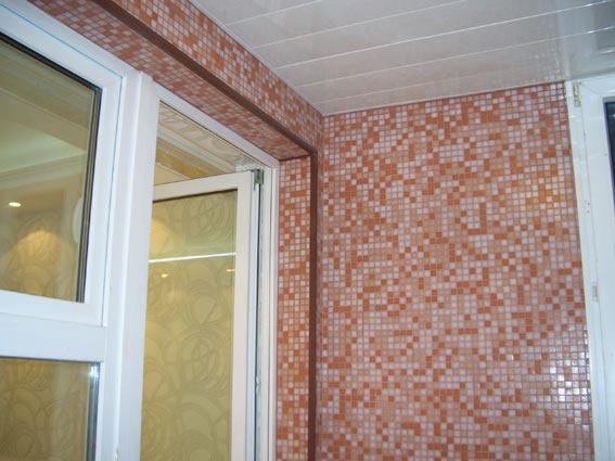 Мозаика на балконе своими руками фото